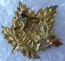 Badge- Canadian General Service Cap badge (BRASS*)