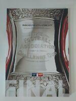 2011 FA CUP FINAL PROGRAMME STOKE CITY V MANCHESTER CITY