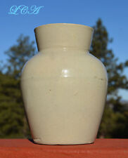Rare SMALL SIZE antique WEYMAN'S COPENHAGEN SNUFF stoneware crock jar