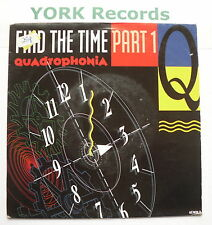 "QUADROPHONIA - Find The Time - Excellent Condition 7"" Single ARS 657626 7"