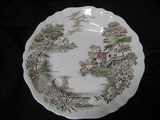 J & G Meakin Olde Avon Dale England  Straffordshire Dinner Plate 10 inch diamete