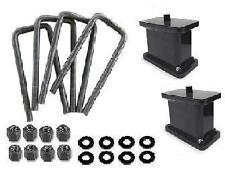 "01-2010 Chevy GMC Sierra Silverado 3500HD 4"" Rear Lift Block Kit"