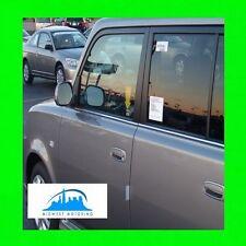 04 05 06 SCION XB CHROME LOWER WINDOW TRIM MOLDINGS W/5YR WRNTY