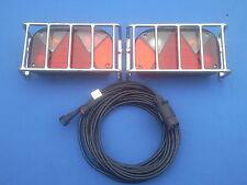 PKW Anhänger Rückleuchten  Komplettsatz mit Stecker, Beleuchtung ,Anfahrschutz