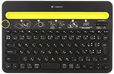 LOGICOOL BLUETOOTH MULTI-DEVICE KEYBOARD K480 BLACK  NEW ANDROID/IOS