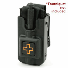 Eleven 10 RIGID Tourniquet Case Black for SOF®TT w/ Molle Clip - 3011M-BLK