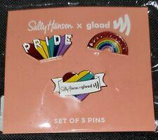 Sally Hansen Pride Rainbow Enamel Pins
