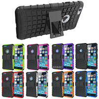 Shockproof Hard Heavy Duty Stand Armour Case Cover Apple iPhone 10 X 8 7 6s Se 5