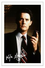 KYLE MACLACHLAN TWIN PEAKS AUTOGRAPH SIGNED PHOTO PRINT