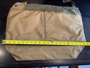 NEW Vintage Hartmann Luggage Garment Bag OR ?? INSERT WITH SNAPS  Khaki Canvas