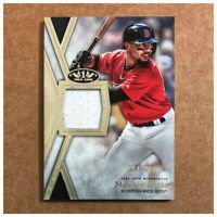 Mookie Betts 2020 Topps Tier One Relic /395 Boston Red Sox TIR-MB