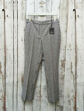 Massimo Dutti Slim Fit Gingham Check Suit Trousers - 38 **BNWT**