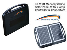 30 watt Solar Collector with 7 amp Controller - #9530