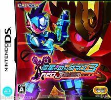 Used DS  Capcom Ryuusei no RockMan 3: Red Joker NINTENDO JAPANESE IMPORT