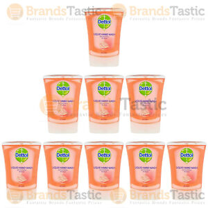 DETTOL NO TOUCH REFILL HAND WASH GRAPEFRUIT 250ML CHOOSE QUANTITY