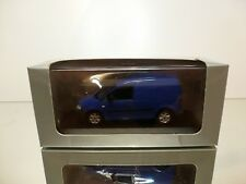 MINICHAMPS VW VOLKSWAGEN CADDY -  BLUE 1:43 - EXCELLENT IN DEALER BOX