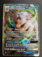 Pokemon Alolan Persian GX 129/236 Holo Ultra Rare Cosmic Eclipse LP