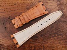 Watch Strap Audemars Piguet Gold Brown 1 1/32in Handmade Elegant News Matt Cool