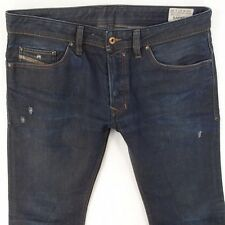 Mens Diesel SAFADO 0806X Straight Slim Fit Blue Jeans W33 L30
