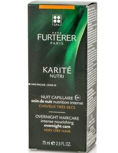 Rene Furterer Karite Nutri Overnight Care Intense Nourish For Very Dry Hair 75ml