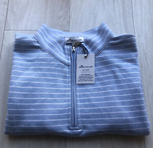 Peter Millar Crown Comfort Interlock Quarter Zip Golf Pullover Mens Size XXL