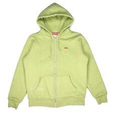 NWT Supreme Sage Green Box Logo Thermal Floral Hoodie Sweatshirt FW16 AUTHENTIC