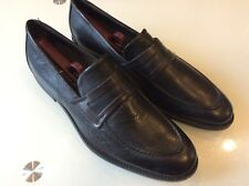 BACCO BUCCI NEW MENS BLACK LEATHER LOAFERS SIZE 10 $ 128.00