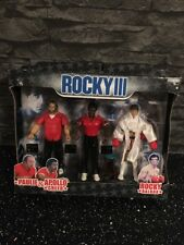 Jakks Pacific - Rocky Apollo Paulie Figure Set Extremely Rare New