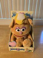 Vintage Jim Henson's The Muppets Muppet Babies Wocka Wocka Fozzie the Bear Plush