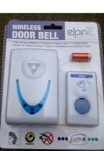 New Wireless Door Bell /chime/ring,battery Operated Long Range 36 Melodies