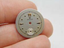 Cadran Montre ROLEX watch dial. N S33 NAD 1950 vintage rolex