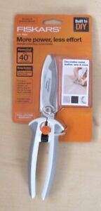 "Fiskars 8"" Snips ~ PowerCut ~ Easy Action, Special Low Price, New"