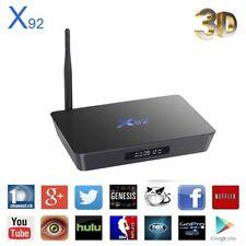 X92 Android Smart TV Box  Amlogic S912 Octa Core 2GB 16GB 3D HD 4K Media player