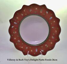 Villeroy & Boch Toy's Delight Piatto Fondo natalizio 26cm