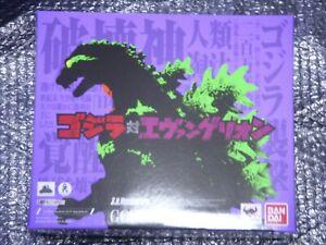 BANDAI S.H. MonsterArts GODZILLA Series Godzilla feat.Evangelion EVA-01