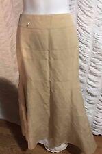 NWOT Eccoci women beige skirt size 8