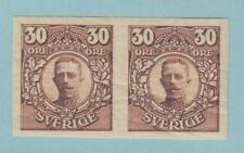 SWEDEN SC 86 FA 88 IMPERF PAIR - MINT NEVER HINGED OG ** NO FAULTS EXTRA FINE !