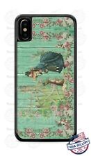 Nostalgic Bunny Rabbit with Girl Vintage Phone Case Cover For iPhone Samsung etc