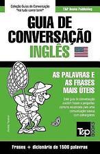 Guia de Conversacao Portugues-Ingles e Dicionario Conciso 1500 Palavras by...