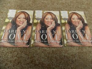 DARLENE LOVE LOT OF 3 ORIG PROMO POSTCARDS FROM SHOW AT BB KING'S BLUES CLUB