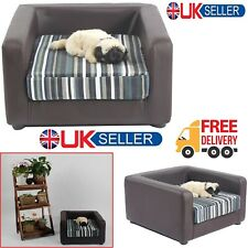 Dog Cat Kitten Puppy Pet Soft Sofa Bed Cushion Armchair Chair House Furniture UK