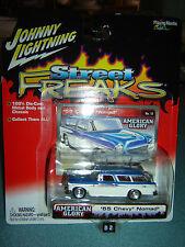 JOHNNY LIGHTNING STREET FREAKS American Glory '55 Chevy Nomad #12