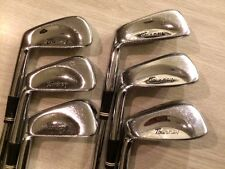 "LH MacGregor Tourney Iron Set 3 thru 9 irons *MISSING 4 IRON* 37.5"" - LEFTHANDED"