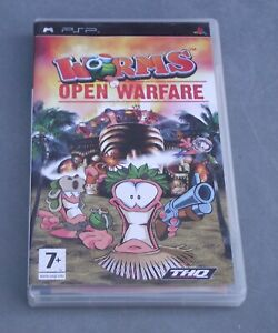 PSP GAME – WORMS OPEN WARFARE (COMPLETE)