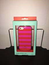Kate spade New York Candy Stripe Hybrid Apple iPhone 5/5s/SE Retail $40 !!