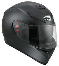 AGV K3 SV Matt Black Motorcycle Helmet 24210258 Ml