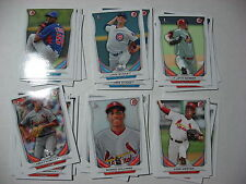 2014 BOWMAN DRAFT lot 6 LUKE WEAVER St. Louis Cardinals DP23 Round 1