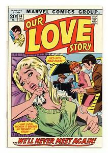 Our Love Story #14 FN 6.0 1971