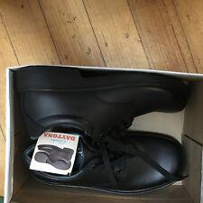 Black school shoes Clark Daytona 7G