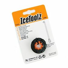 IceToolz 12F8 Forjado 8-groove Llave de Radios para Bicicleta / Wrench Tool
